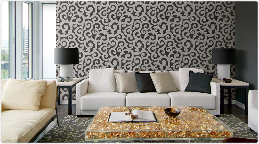 Wallpaper for home decorative wallpaper wallpaper for for Interior wallpaper designs india